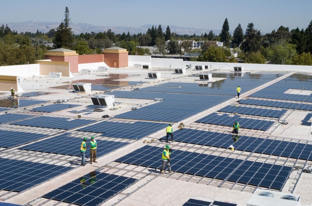 Businesses Going Solar