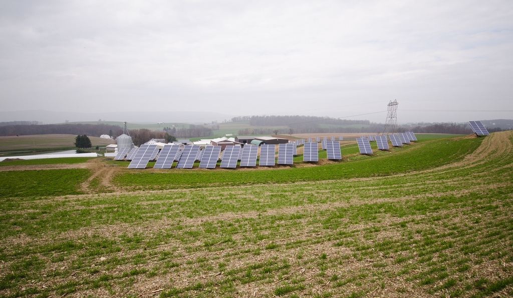 Solar Power As A Crop