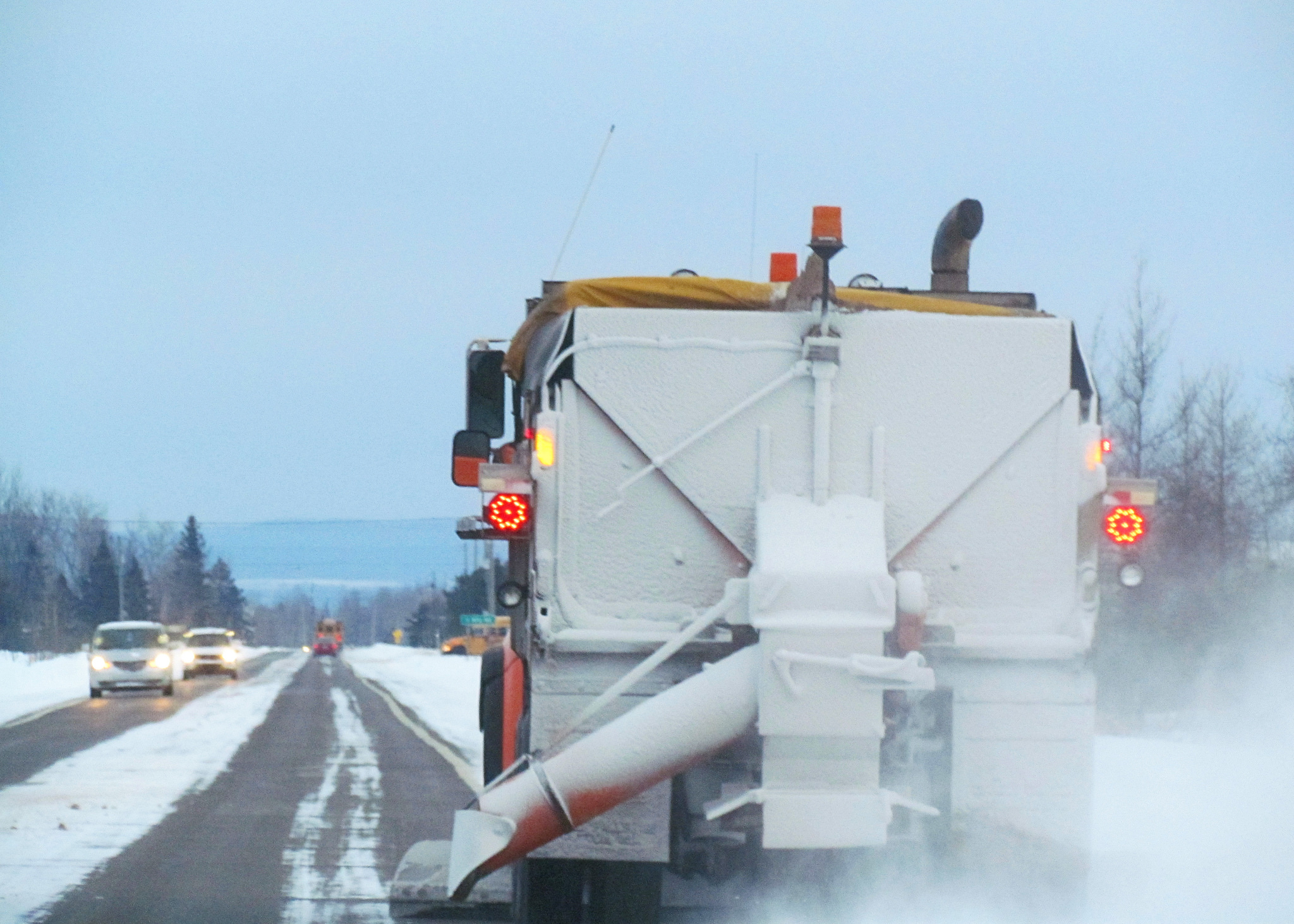 De-Icing Roadways