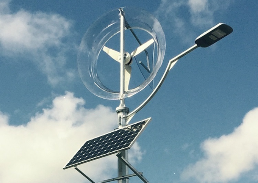A Wind-Solar Streetlight