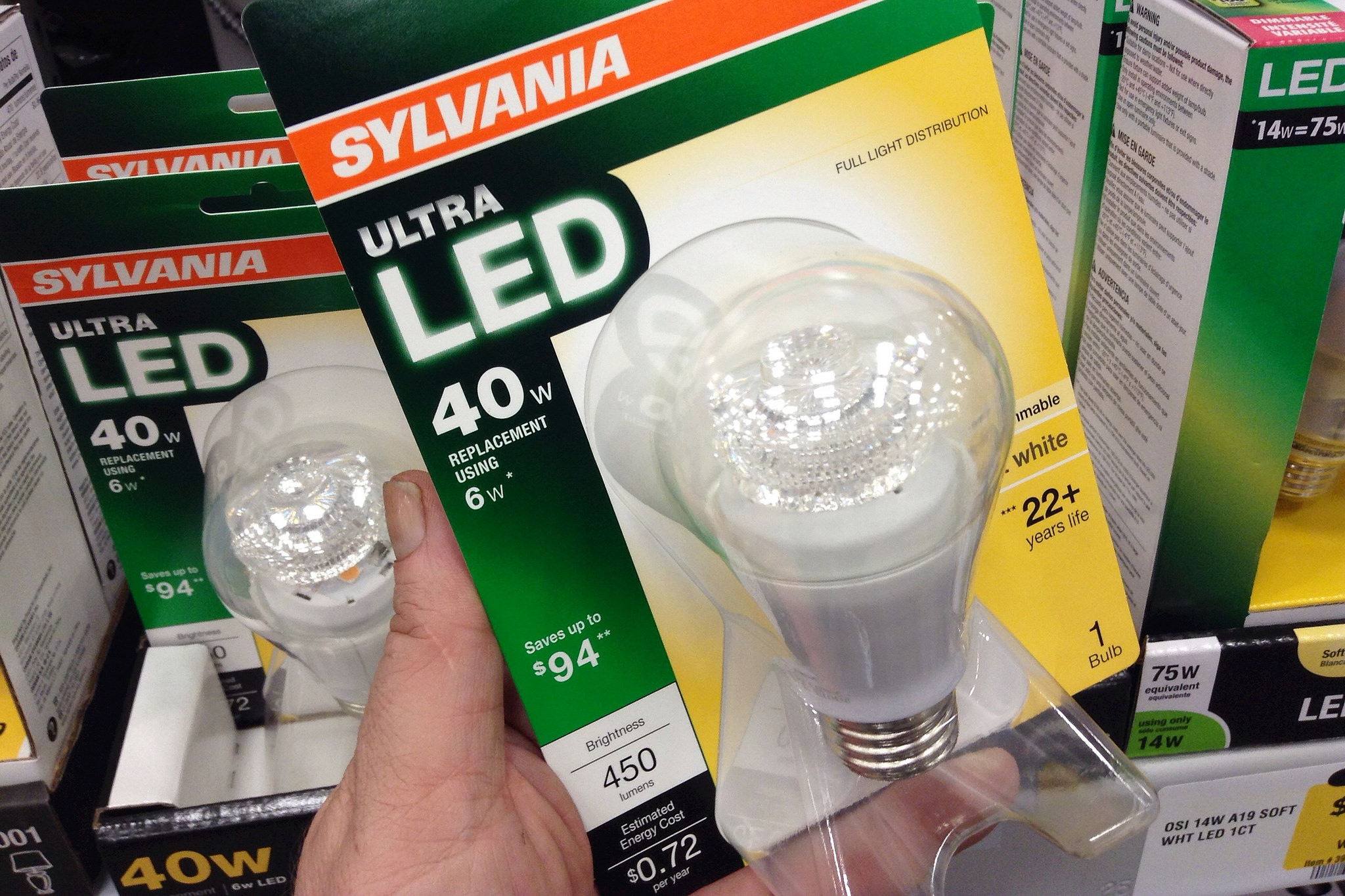 Disruptive Light Bulb Technology