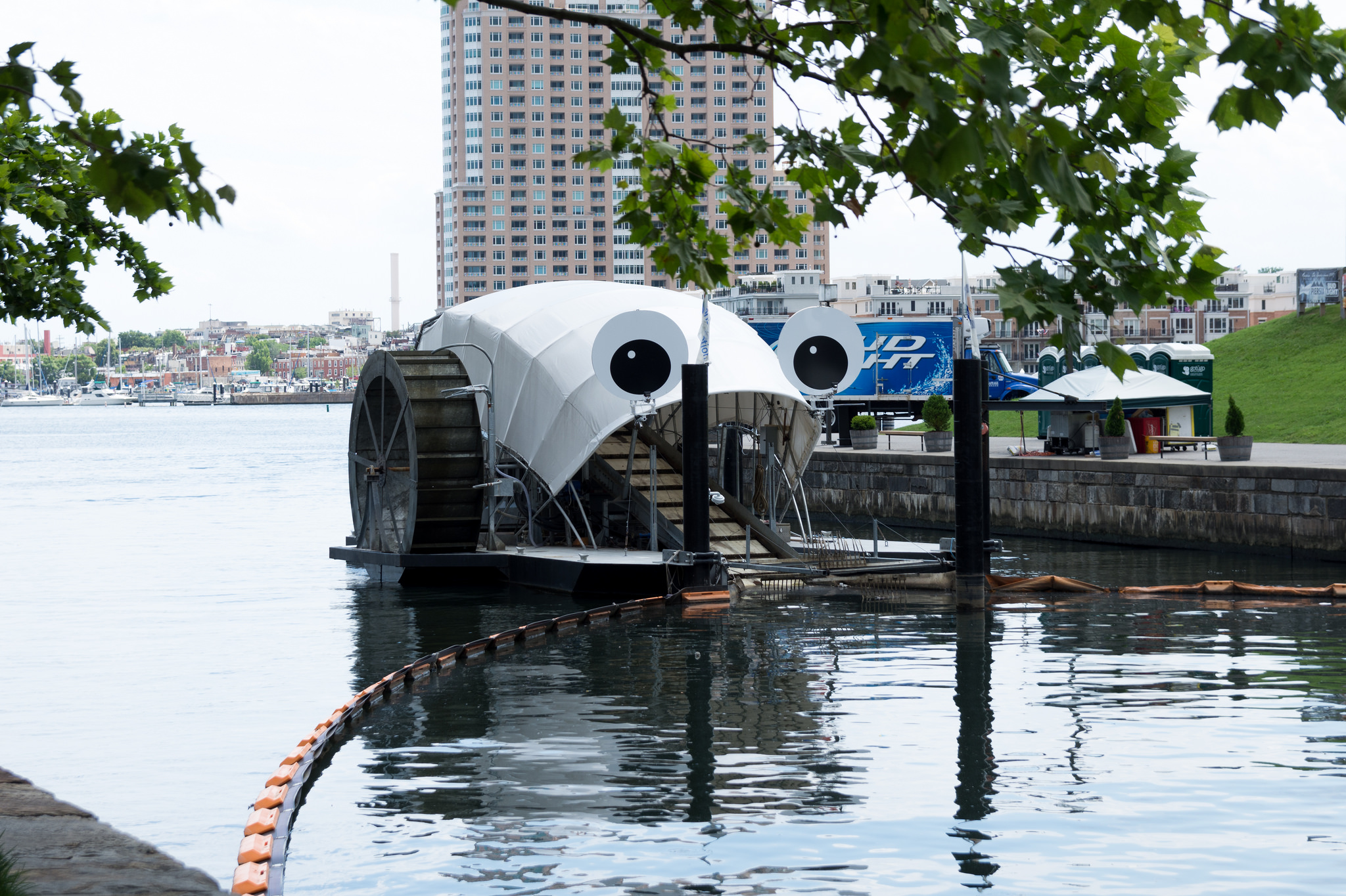 Baltimore's Trash Wheels