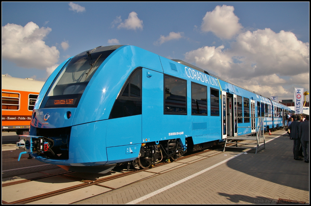 A Hydrogen-Powered Train