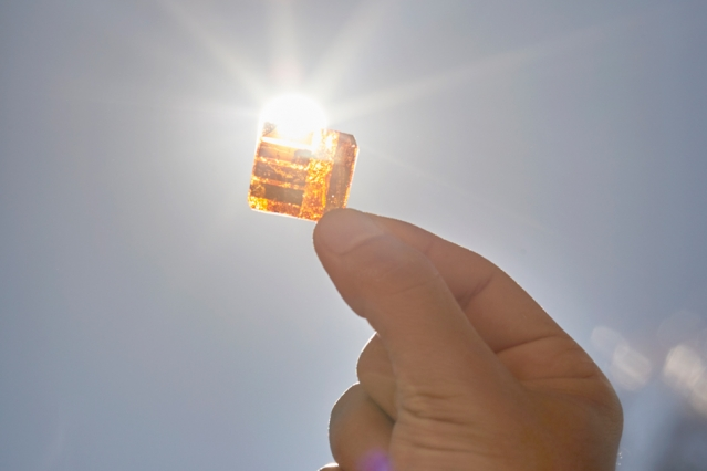 Another Way To Make Solar Cells