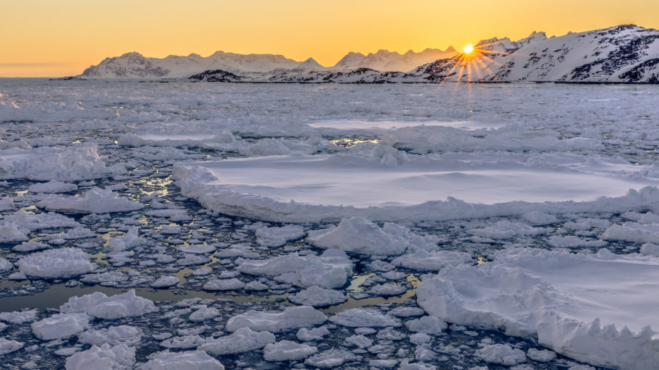 Ice Melt In Greenland